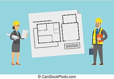 Planning Engineers Schemes with Floors Scheme