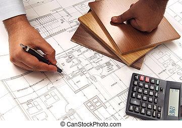 planning hand