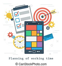 Planning of working time