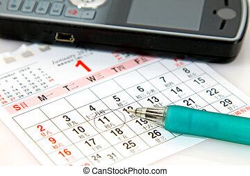 Planning on calender - Planning on calander