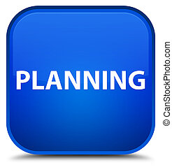 Planning special blue square button