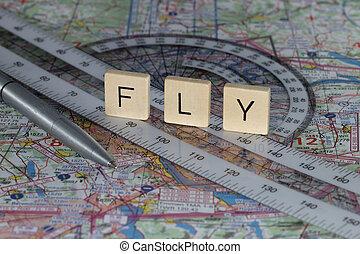 planning, vlucht