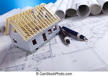 plano arquitetura, e, lar