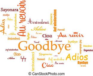 plano de fondo, adiós