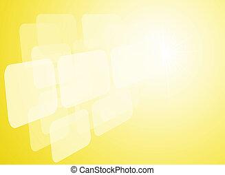 plano de fondo, amarillo, resumen