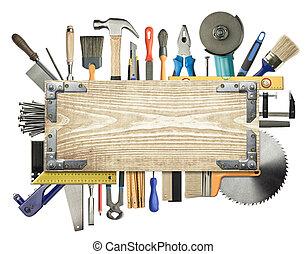 plano de fondo, carpintería