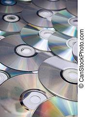 plano de fondo, cds