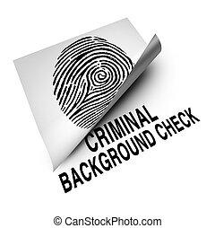 plano de fondo, cheque, criminal
