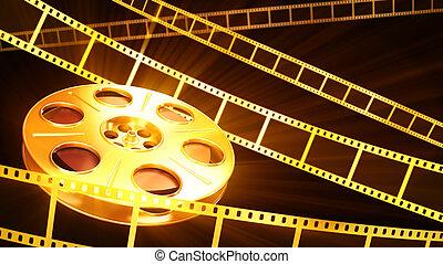 plano de fondo, cine
