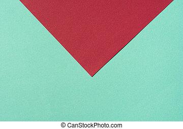 plano de fondo, composición, plano, color, turquesa, rojo,...