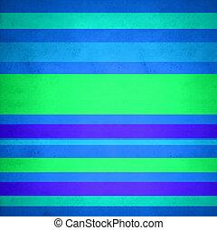 plano de fondo, de, líneas, en, azul y verde