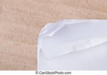 plano de fondo, de, viejo, papel
