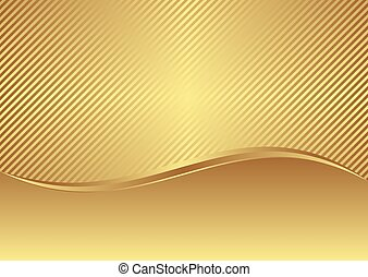 plano de fondo, dorado