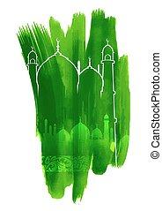 plano de fondo, eid), (happy, mubarak, eid