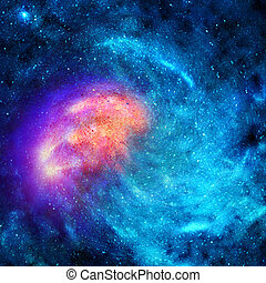 plano de fondo, estrellas, espacio