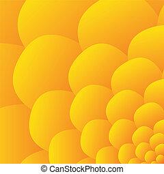 plano de fondo, -, flor amarilla