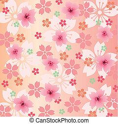 plano de fondo, flores