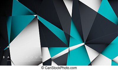plano de fondo, geométrico, gradients, estilo, white.,...