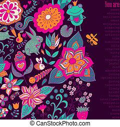 plano de fondo, invitation., deseos, su, valentino, garabato, también, lugar, usted, agradable, on., text., cubierta, cuaderno, floral, día, tarjeta, romántico, tan, lata, invitación, diseño