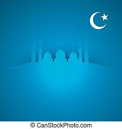 plano de fondo, islam