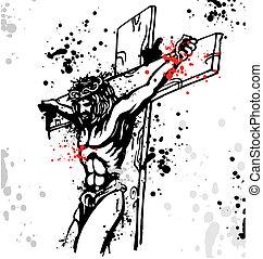 plano de fondo, jesús