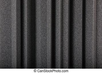 plano de fondo, macro, espuma, pared, acústico
