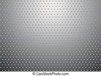 plano de fondo, metal, plata, bobble