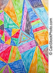 plano de fondo, multicolor