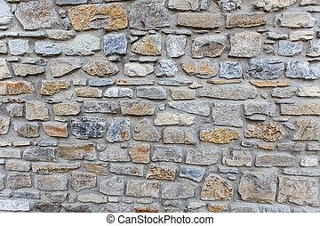 plano de fondo, pared de piedra