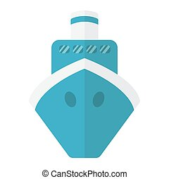plano de fondo, plano, 10., colorido, barco, sólido, patrón, viaje, eps, señal, icono, vector, gráficos, barco, blanco, transporte