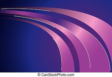 plano de fondo, rastro, púrpura, luz colorida