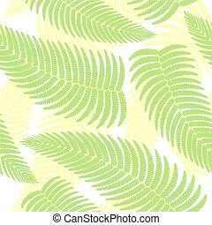 plano de fondo, seamless, ferns.