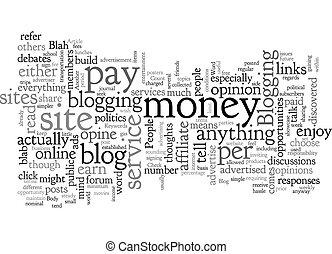 plano de fondo, wordcloud, blog, concepto, texto, blah