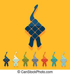 plano, design:, ketupat