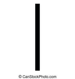 plano, estilo, color, símbolo, hielo, helada, vector, runa, ilustración, negro, isa, imagen, icono