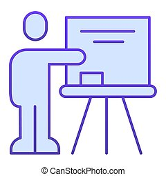plano, fondo., diseño, icon., señalar, pictogram, concepto, ...