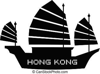 plano, hong kong, icono