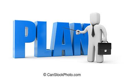 plano, negócio