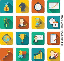 plano, planificación, estrategia, empresa / negocio, icono