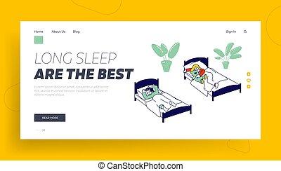 plano, sueño, tiempo, dormitar, school., relajante,...