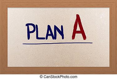 plano, um, conceito
