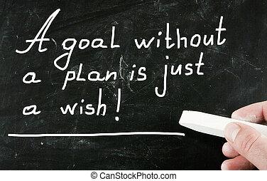 plano, wish!, meta, apenas, sem