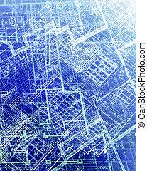 planos, abstratos