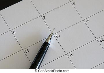 planowanie, porządek dzienny