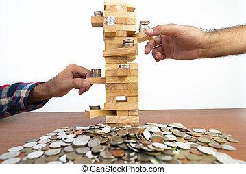 planowanie, ryzyko, i, strategia, w, handlowy
