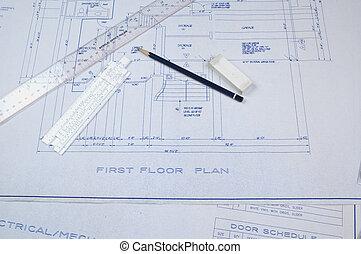 plans bâtiment