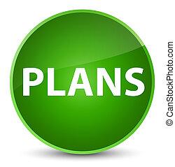 Plans elegant green round button