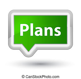 Plans prime green banner button