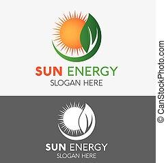 plant, boerderij, zon, op, vorm, vector, ontwerp, mal, logo, cirkel, abstract