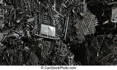 Plant for processing of garbage and waste. Pallastic wastes...